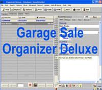 Garage Sale Organizer Deluxe