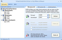 Eltima Virtual Serial Port Driver