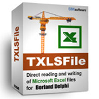 TXLSFile library (for Borland Delphi) screenshot medium