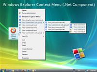 Windows Explorer Shell Context Menu (.NET Component)