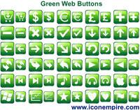 Green Web Buttons