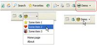 Demo button for Internet Explorer (IEDemoButton)