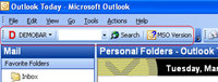 Demo toolbar for Microsoft Outlook (MSODemoToolbar).