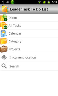 LeaderTask To Do List screenshot medium