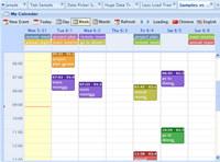 webd jquery event calendar planner