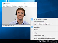 Webcam for Remote Desktop screenshot medium