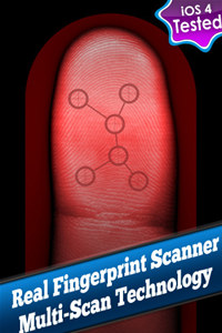 Real Fingerprint Scanner System + Phone