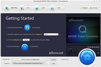 Doremisoft AVCHD Video Converter screenshot medium