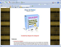 Ebay Ad Maker