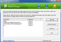 SQL Server Password Changer