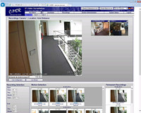 C-MOR IP Video Surveillance Software screenshot medium