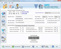 Barcode Maker for Healthcare Industry