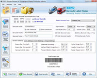 Packaging Distribution Barcode Software