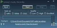 Solway s Audio Recorder screenshot medium