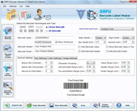 Barcode Fonts for Medical Equipments