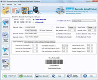 Industrial Manufacturing Barcode Labels