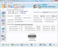Barcode Fonts for Post Office and Banks