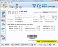 Medical Barcode Generator