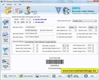 Medical Barcode Generator