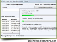 SMS Application for BlackBerry