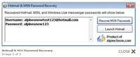 Hotmail & Msn Password Rrecovery