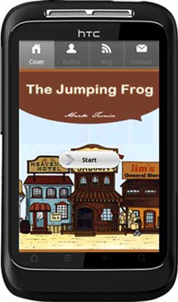 APPMK- Free Android book App The Jumping Frog