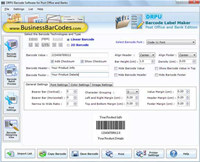 Courier Mails Barcode Maker