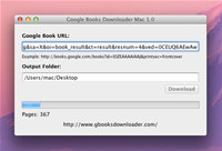 Google Books Downloader Mac screenshot medium