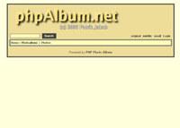 Webuzo for phpAlbum