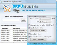 Mass SMS Software