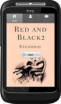 APPMK- Free Android  book App Red and Black 2