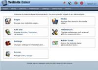 Webuzo for Website Baker