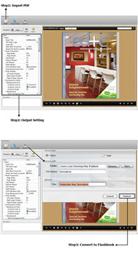 PDF to FlashBook Standard for MAC