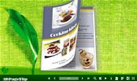 3DPageFlip Flash Catalog Templates for Green