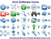 Avia Software Icons