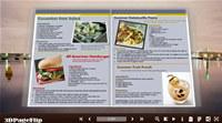 3DPageFlip Flash Catalog Templates for Winter