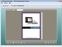 PDF Page Flip Reader - freeware