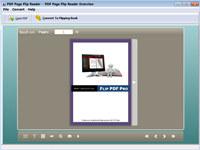 PDF Page Flip Reader - freeware
