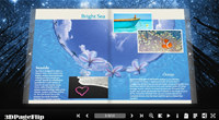 3DPageFlip Flash Catalog Templates for Nature