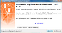ESF Database Migration Toolkit