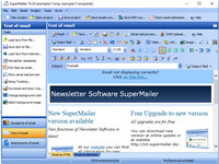 Newsletter Software SuperMailer screenshot medium