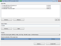 Free Video to DVD Converter screenshot medium