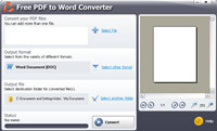 #1 Free PDF to Word Converter