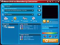 BlazeVideo DVD to BlackBerry Converter