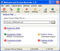 Webcam and Screen Recorder screenshot medium