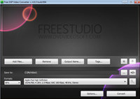 Free 3GP Video Converter screenshot medium