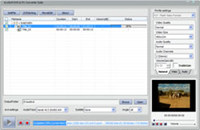 bvcsoft DVD to FLV Converter screenshot medium