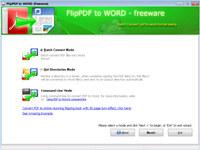Flip PDF to Word - Freeware