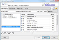 DVD Audio Extractor screenshot medium