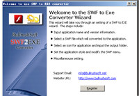 BullrushSoft Swf to exe Converter screenshot medium